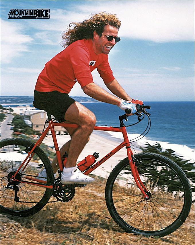 "2829532906b Sammy ""The Red Rocker"" Hagar takes a spin around his back yard in Malibu in  1989"