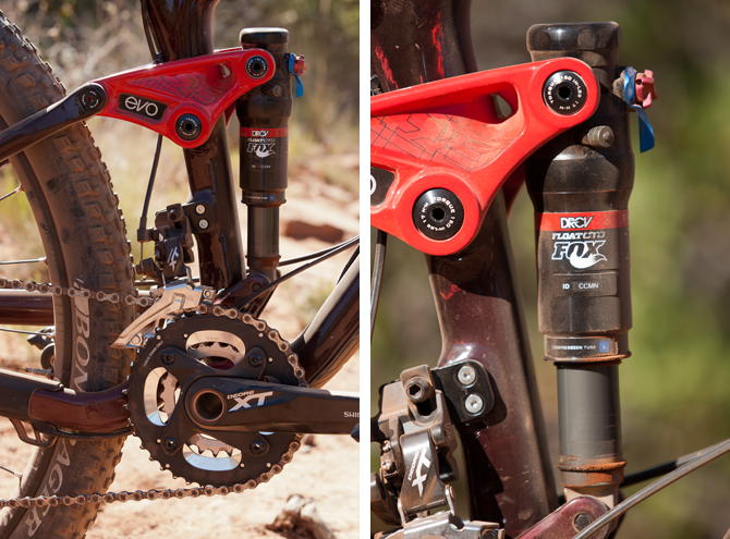 3d4649c7cd5 One of the most notable differences between the older design of the  Rumblefish and the Fuel EX 29er is the move to a rocker-link driven ABP  rear suspension ...