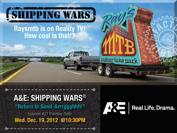 Ray's Indoor MTB Park Featured On A&E's Shipping Wars