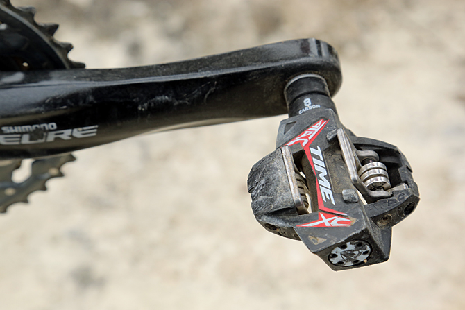 product test time atac xc 8 carbon pedals mountain bike. Black Bedroom Furniture Sets. Home Design Ideas
