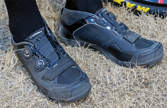 This year the mountain bikers get their fix with the all-new S-Works  mountain shoe line. The shoes come in two varieties  ... b406a126ae