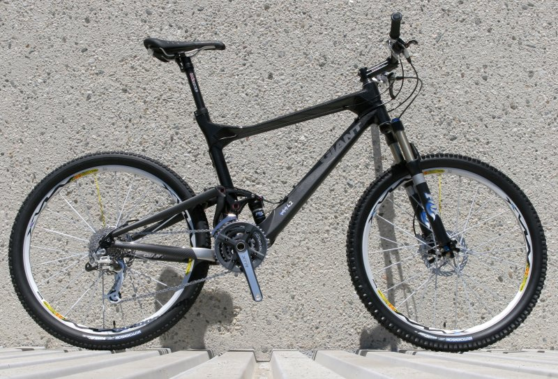 a80069a454e Trance Advanced is Giant's answer to the long-stroke, cross-country  trailbike.