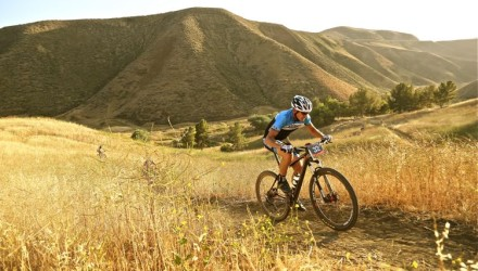 Mountain Bike Action ad manager Derreck Bernard, Castaic, California.
