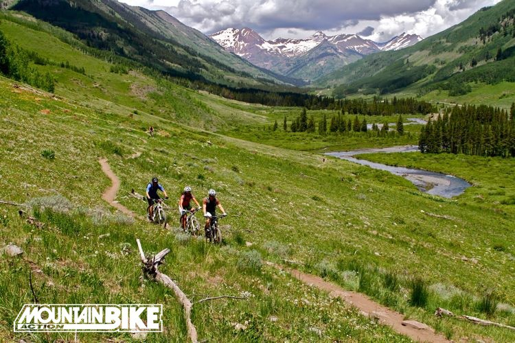 Summer riding, Crested Butte, Colorado.
