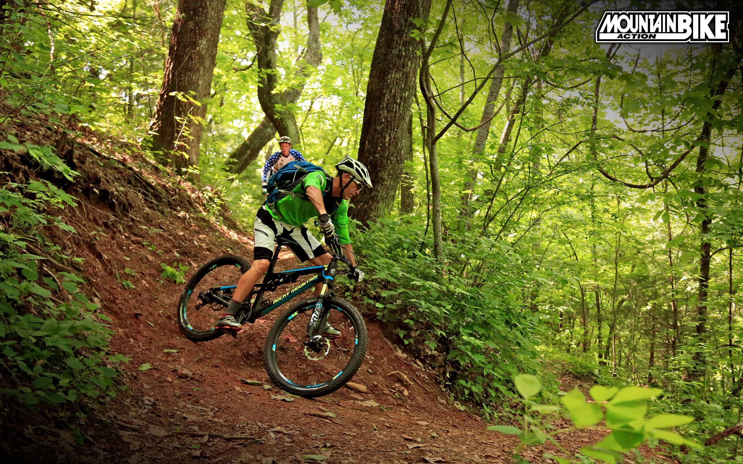 August 2014 Free Wallpaper Mountain Bike Action Magazine