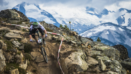 Enduro race crankworks Whistler british columbia canada