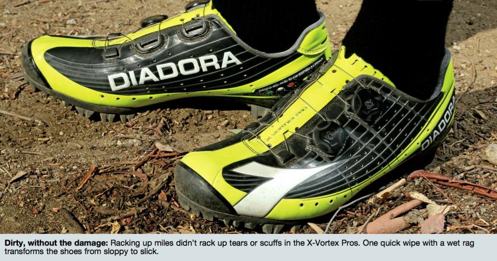 Diadora X Vortex Racer II Colour Redorange | Bike Hub