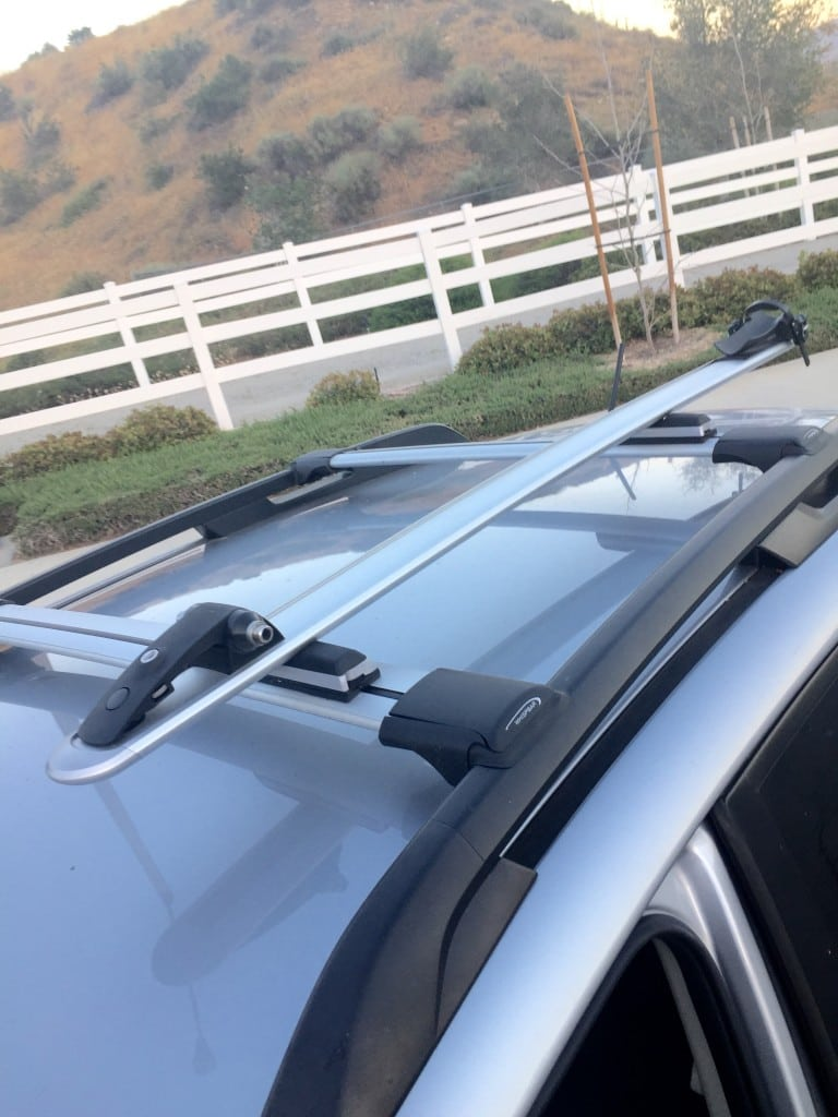 Mbaction Com Review Whispbar Wb200 Roof Rack Mountain