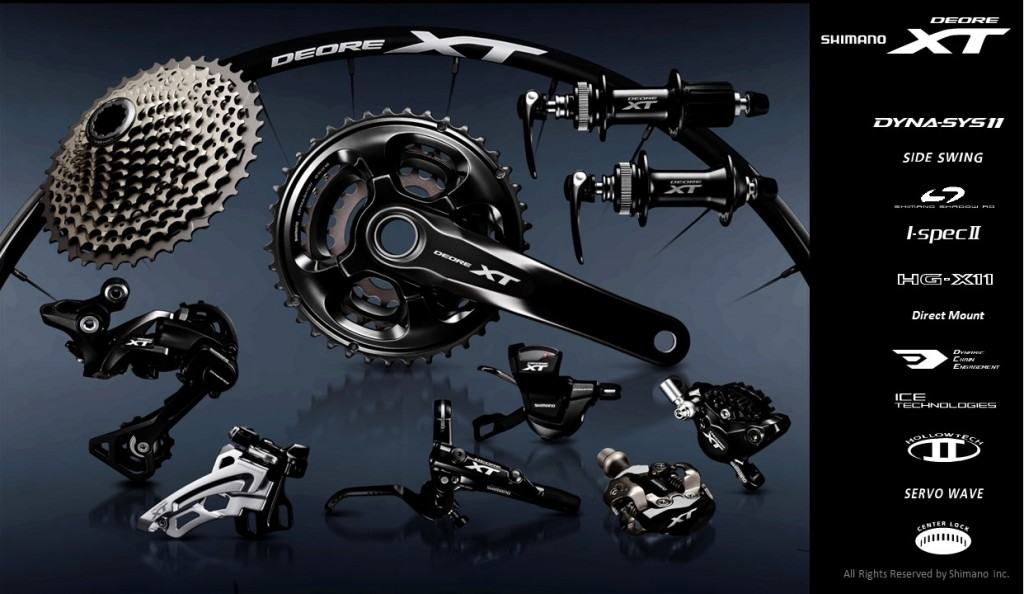 Continental Bike Tires >> First Look: Shimano's Brand-New Deore XT Groupset ...