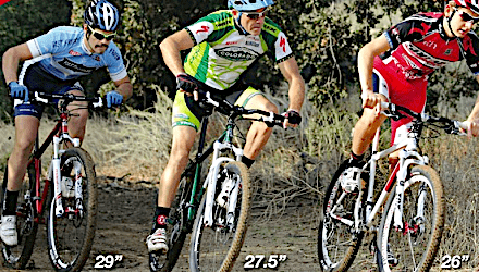 Throwback Thursday Wheel War Shootout 29 Vs 27 5 Vs 26 Mountain Bike Action Magazine