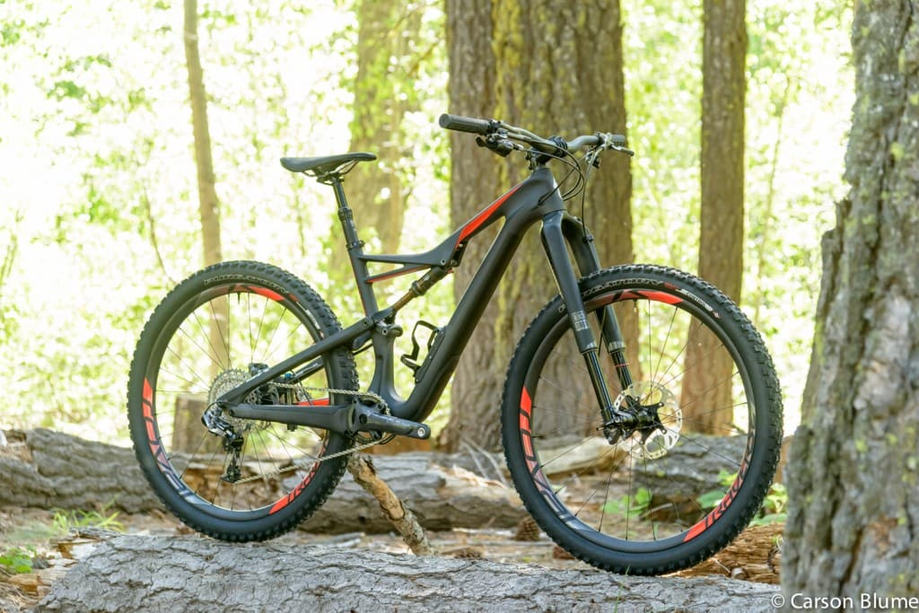 2016 Specialized S-Works Camber FSR Carbon 650B Mountain Bike Frame