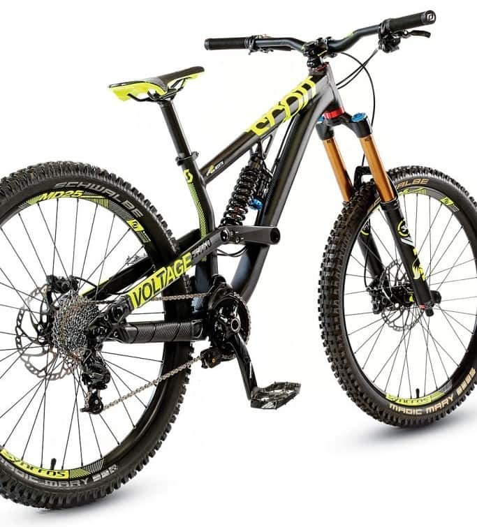 bike test scott voltage fr 710 mountain bike action. Black Bedroom Furniture Sets. Home Design Ideas