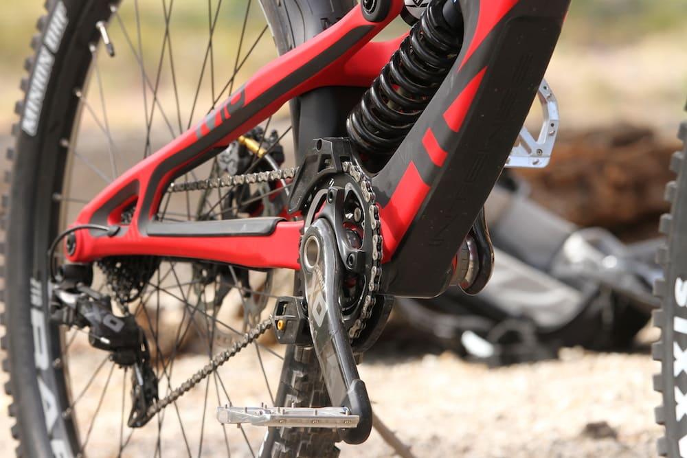 Trail Testing Intense M16 Carbon