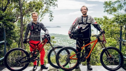 uci-cairns-2016-troy-brosnan-and-claudio-caluori-with-their-bikes