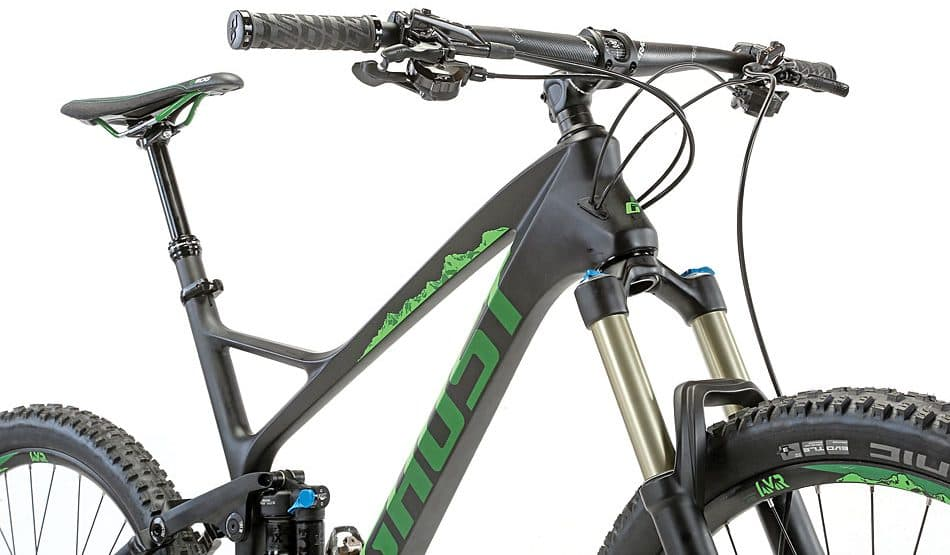 ghost sl amr x lc 8 keeping it real mountain bike. Black Bedroom Furniture Sets. Home Design Ideas