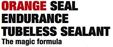 """ORANGE SEAL ENDURANCE TUBELESS SEALANT - """"ROCKET FUEL"""