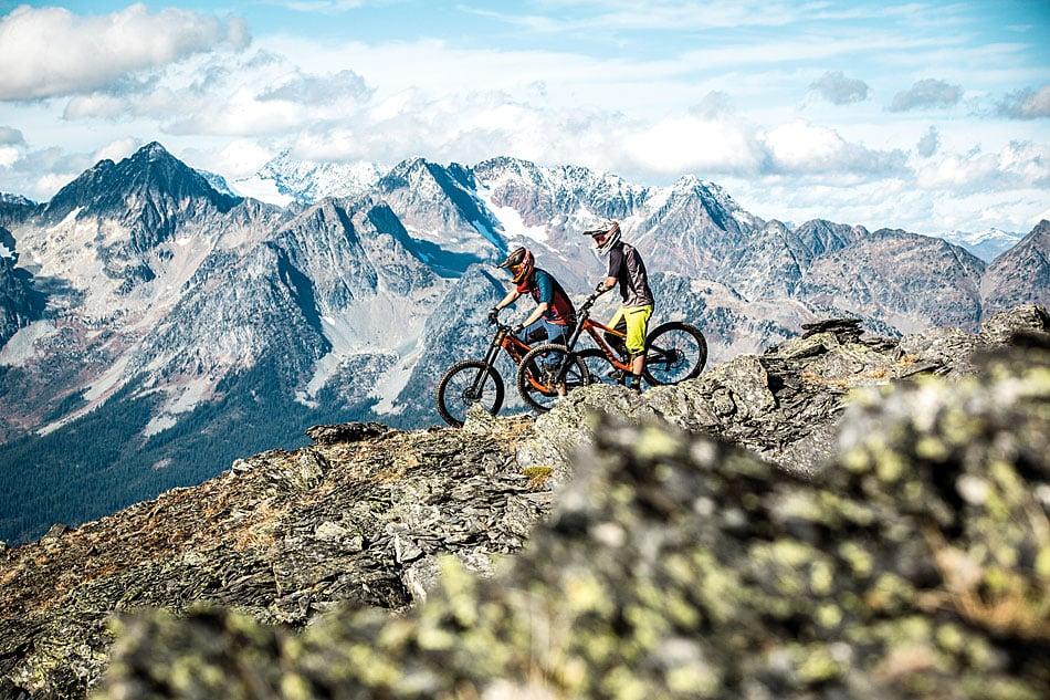 Riding Kona's 2017 Operator at Retallack | Mountain Bike Action Magazine