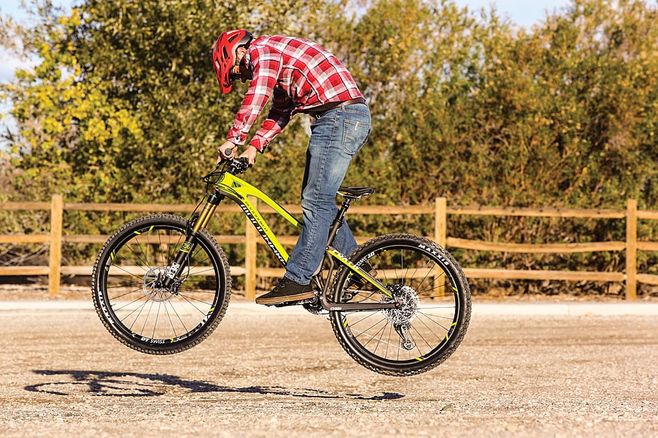 how to get the best punny hop with clipless pedals