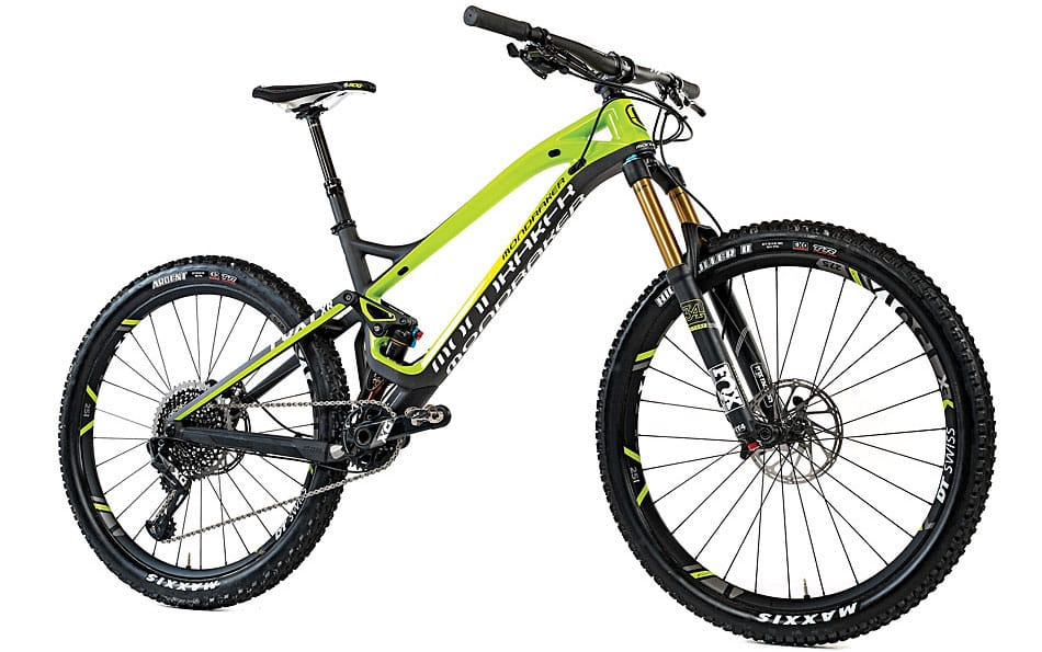 mondraker foxy carbon xr test mountain bike action magazine. Black Bedroom Furniture Sets. Home Design Ideas