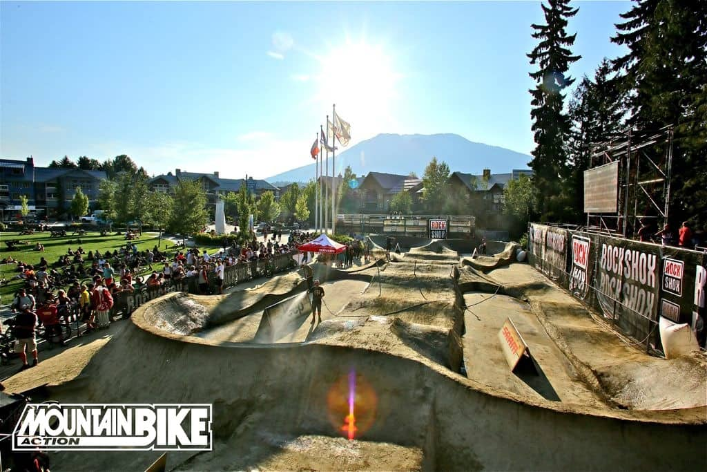 Photo of the Day: Whistler's Ulimate Pump Track Challenge Returns | Mountain Bike Action Magazine