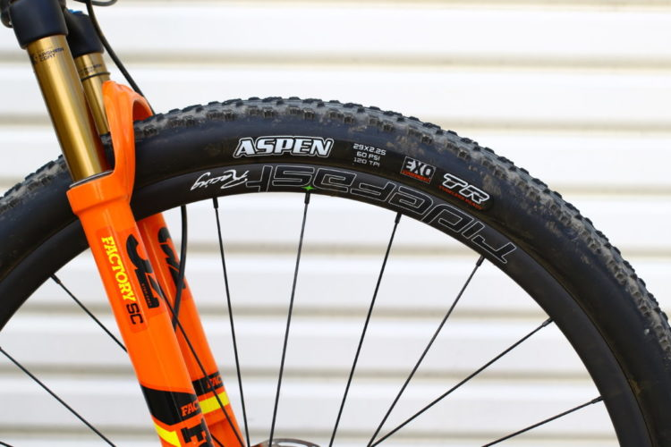 First Ride Maxxis Aspen 29x2 25 Tires Mountain Bike Action Magazine