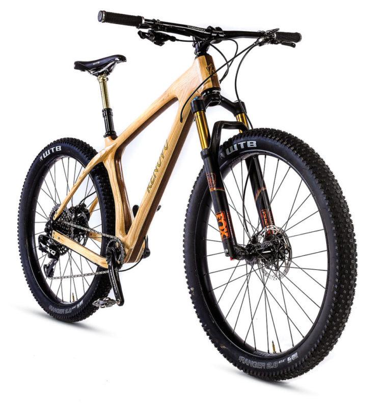 Review - Renovo FatAsh Wooden Bike | Mountain Bike Action Magazine