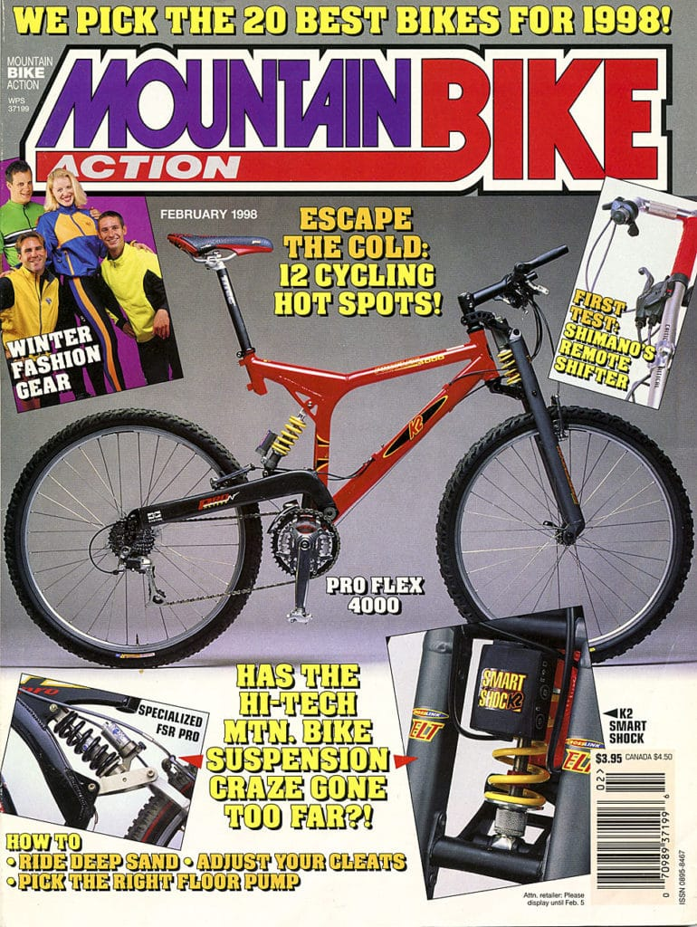 Down The Trail Proflex 4000 Mountain Bike Action Magazine
