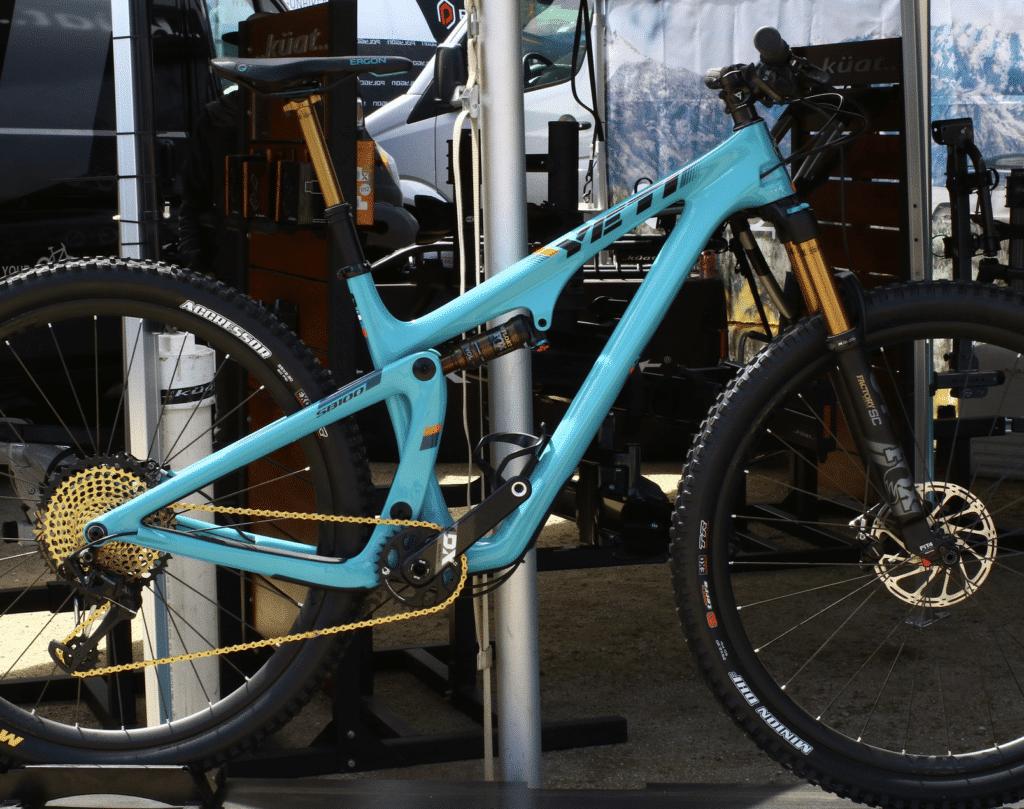 SOC18 - New Yeti SB100 TURQ   Mountain Bike Action Magazine