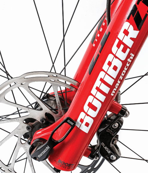 Review - Marzocchi Bomber Z1 Fork | Mountain Bike Action