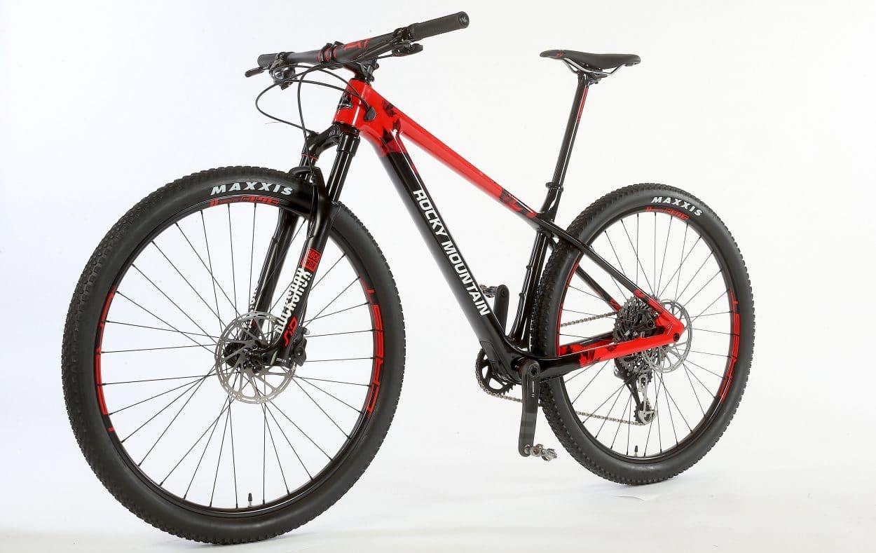 bike test rocky mountain vertex mountain bike action. Black Bedroom Furniture Sets. Home Design Ideas