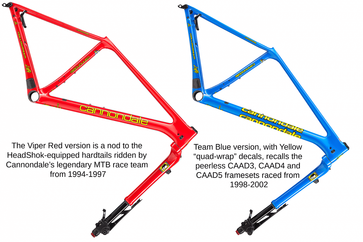 648ee5139eb Throwback Framesets: Cannondale Honors Its Early Days of XC with the New F- Si Hi-MOD | Mountain Bike Action Magazine