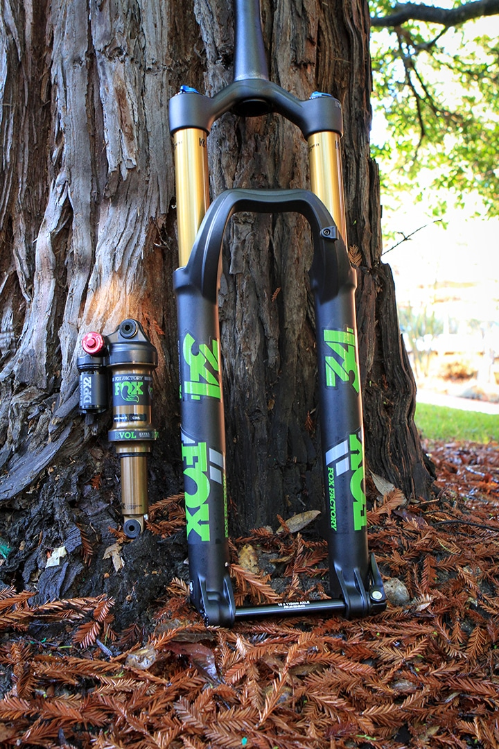 Wood Fox Heritage Decal Kit for Forks and Shocks