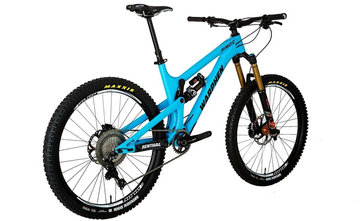 New Bike Discovery: Warphen Bikes New Enduro Machine | Mountain Bike Action Magazine