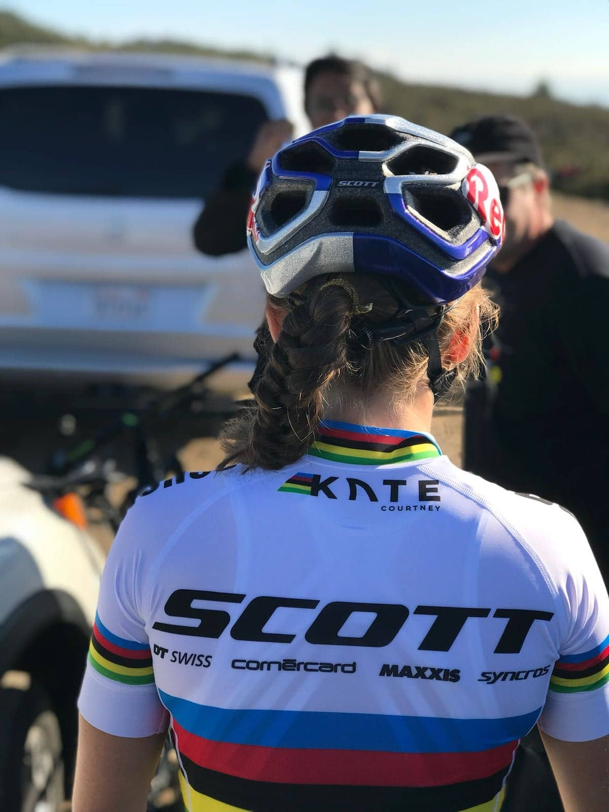 23 year old Kate Courtney was born and lives at the birthplace of mountain  biking in the San Francisco Bay area 1a79295ae