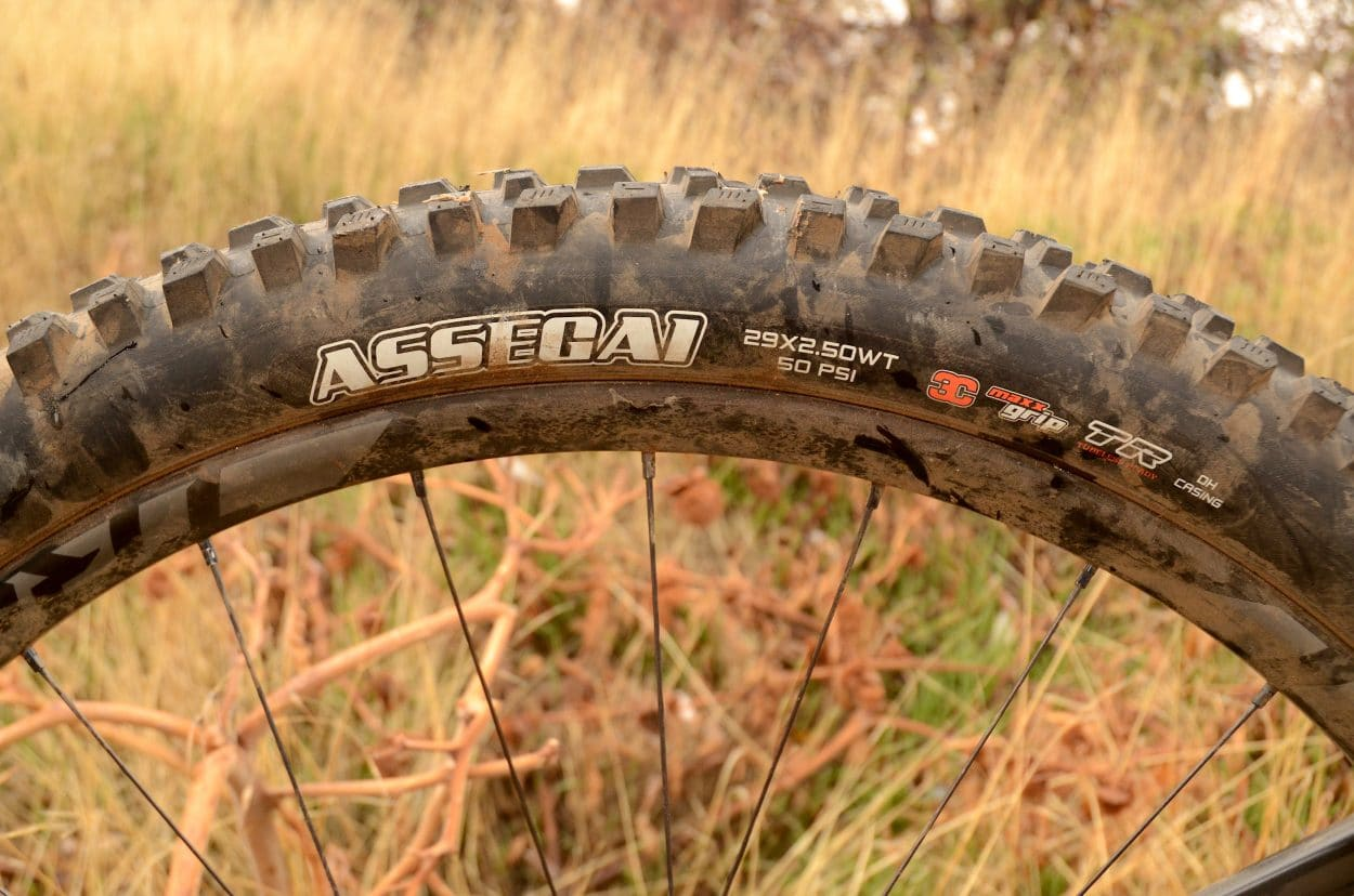 Product Test: Maxxis Assegai Tire | Mountain Bike Action Magazine