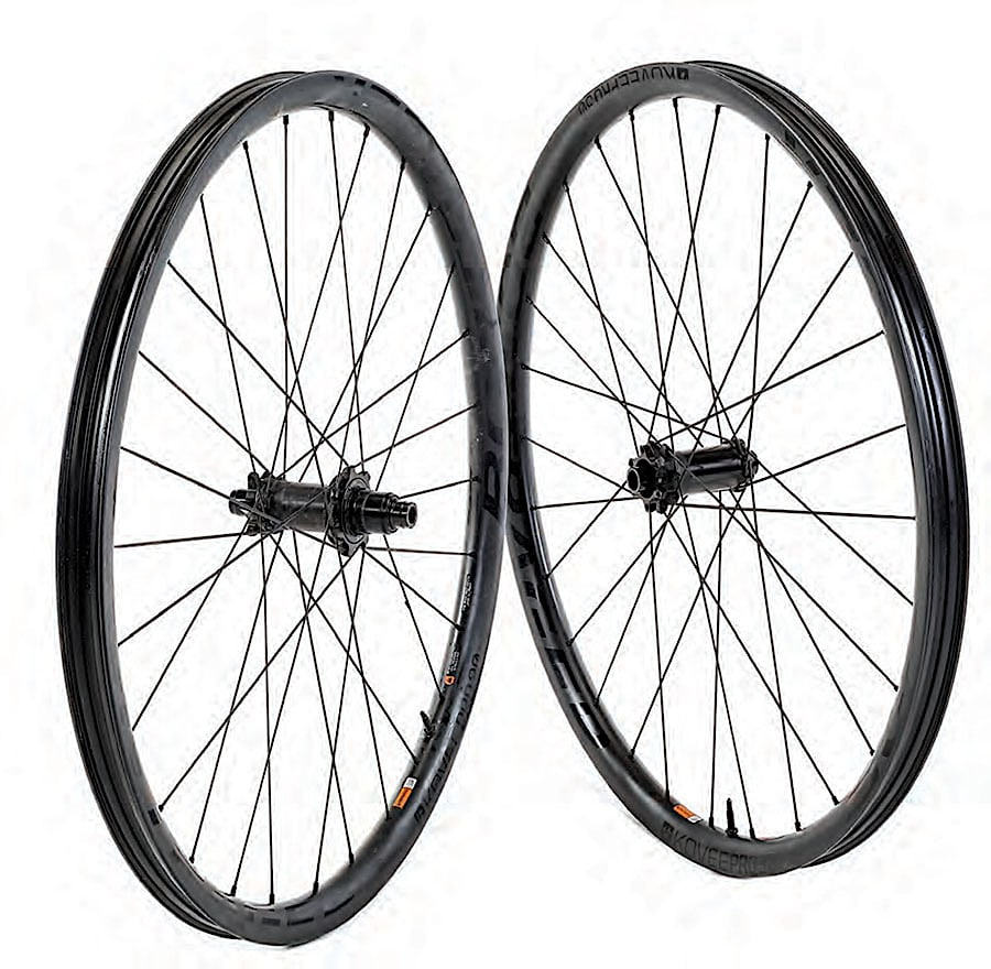 Product Test Bontrager Kovee Pro 30 Wheels Mountain Bike Action Magazine