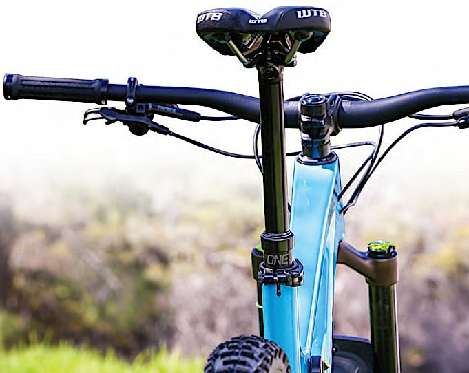 Product Test: Oneup Components Dropper Post   Mountain Bike Action Magazine