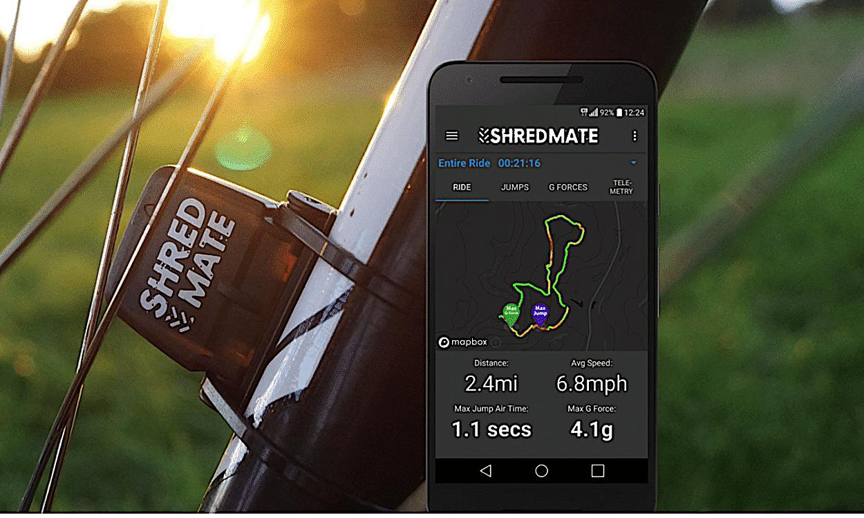 Product Test: Shredmate Data Sensor   Mountain Bike Action Magazine