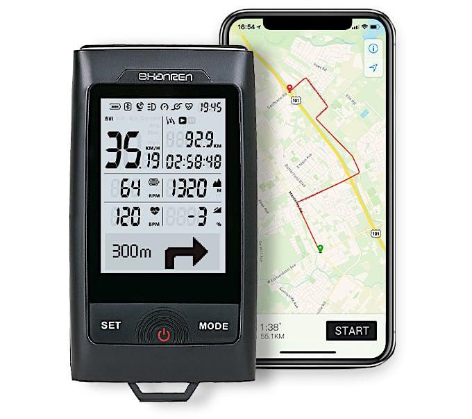 Product Test: Shanren Di-Pro GPS Bike Computer   Mountain Bike Action Magazine