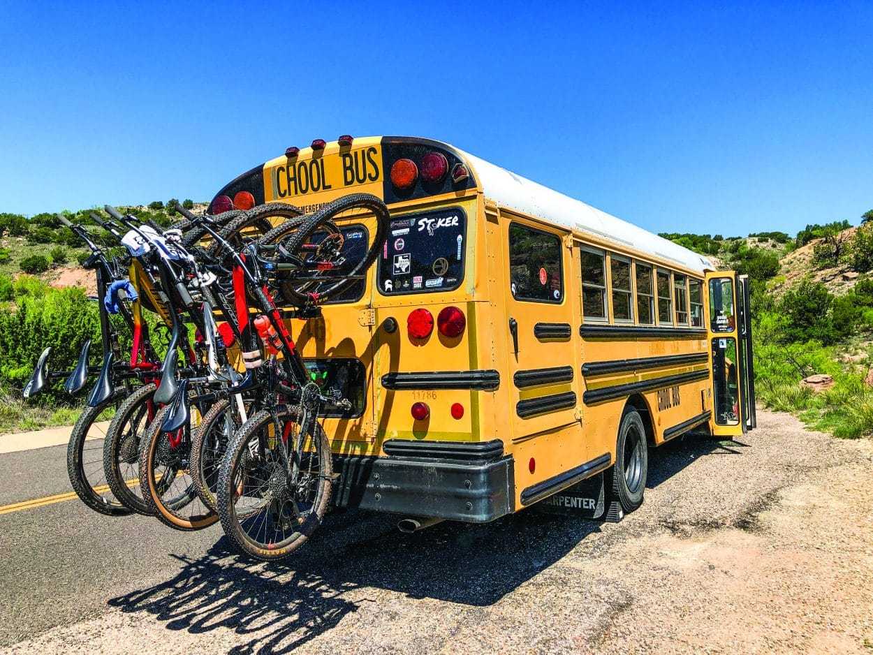 Taking The 'Chool Bus To The Races | Mountain Bike Action Magazine