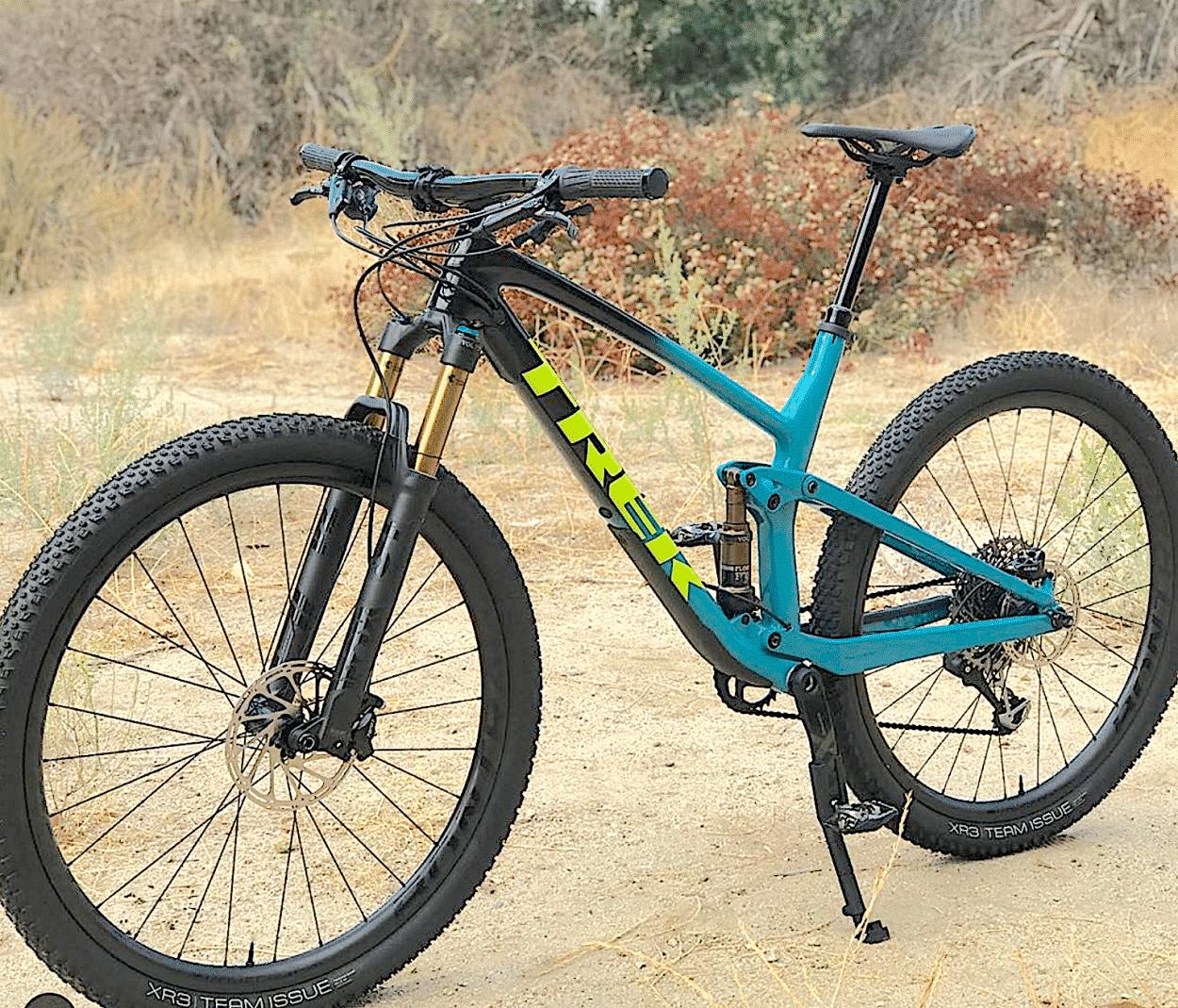 New Bike Discovery: Trek Top Fuel 9.8   Mountain Bike Action Magazine