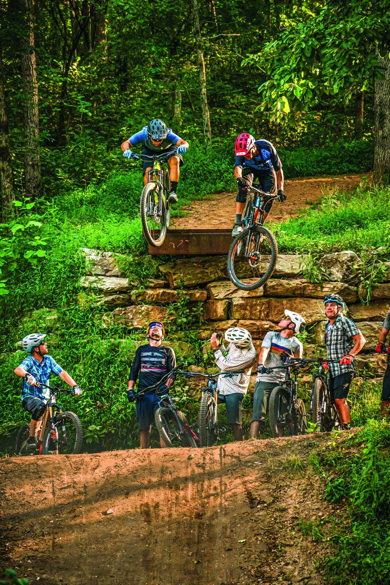 All-Star Crew Rides Northwest Arkansas   Mountain Bike Action Magazine