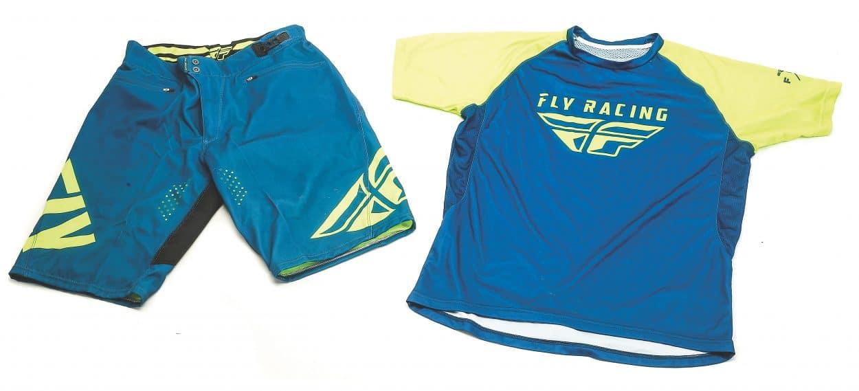 Fly Racing Bike MTB Mountain Bike Shorts Teal