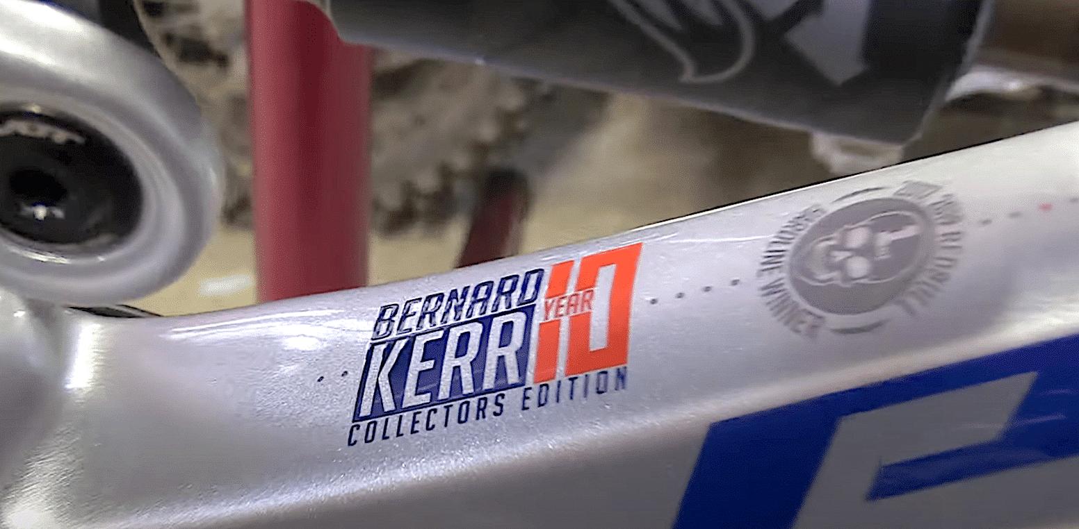 Unboxing Bernard Kerr's 10 Year Limited Edition Pivot DH Bike | Mountain Bike Action Magazine