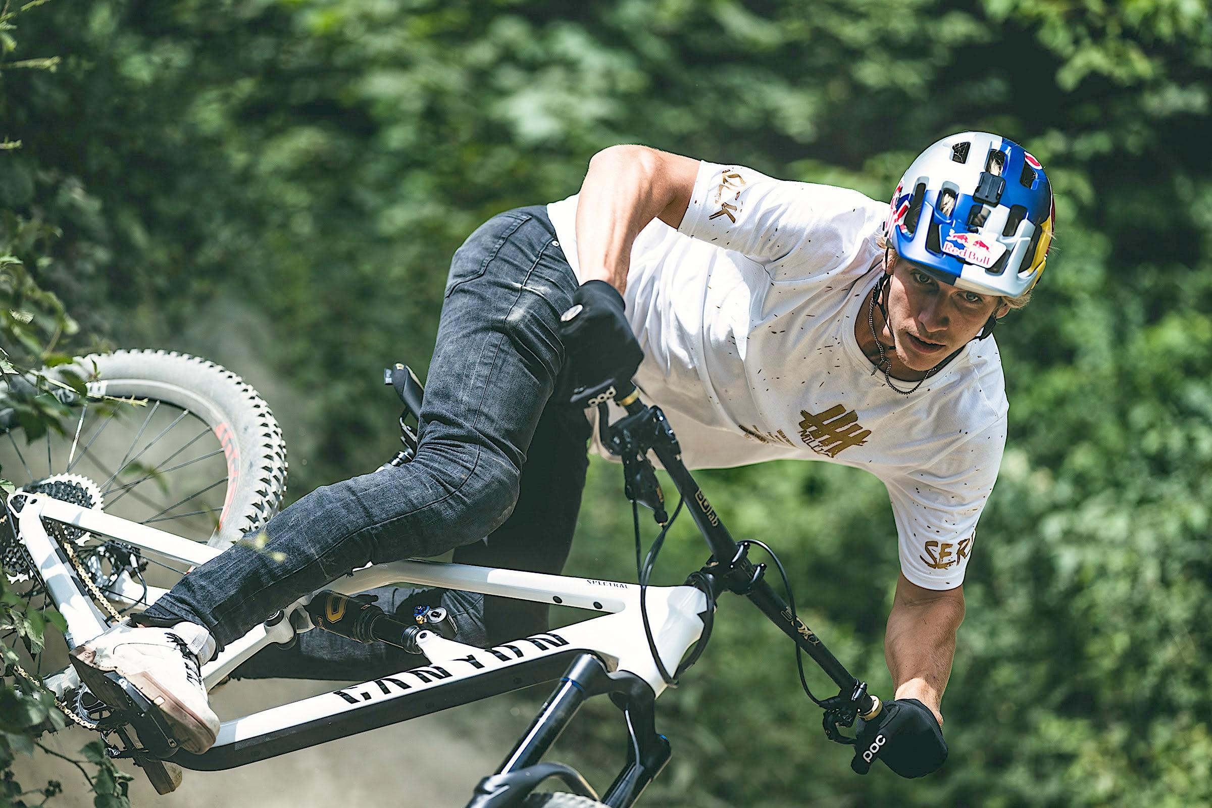 Fabio Wibmer's New Magura MT5 Limited Edition Brakes   Mountain Bike Action Magazine